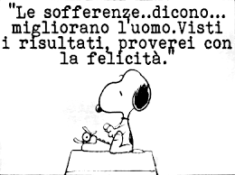 snoopy sofferenza